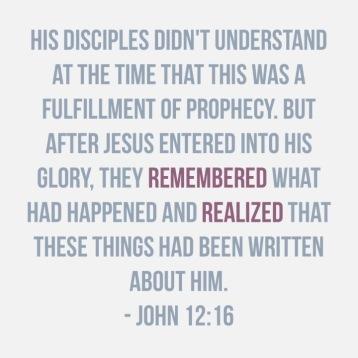 John 12:16